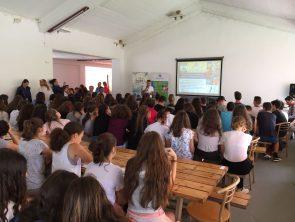 25 – 29.06.2018 Βιωματικά εργαστήρια με τον ΟΑΕΔ σε κατασκηνώσεις σε Θεσσαλονίκη και Αθήνα