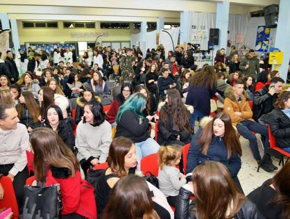 Schülerveranstaltung von 2. EPA.S.-OAED von Thessaloniki am 18.12.2018