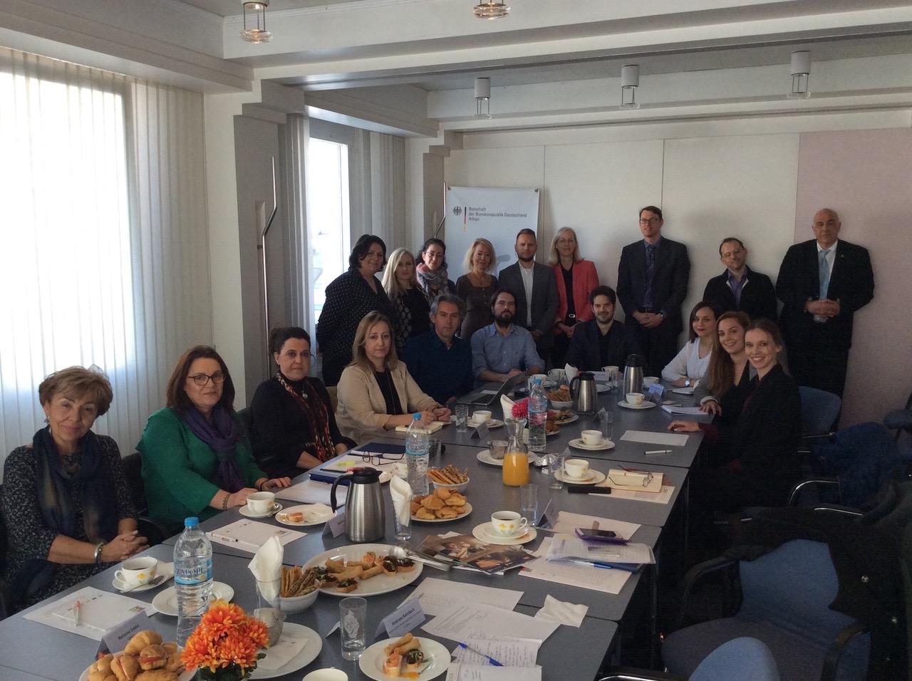 21.03.2019: Runder Tisch zur dualen  Berufsbildung der deutschen Botschaft Athen