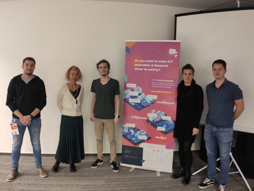 Τα έργα GRÆDUCATION και YOUTH IMPACT επισκέπτες στο Designathon στη Bratislava