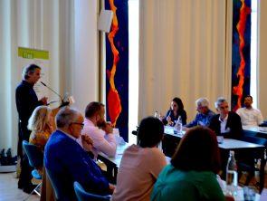 OAED besucht Deutschland – Vorstellung des zdi-Netzwerkes
