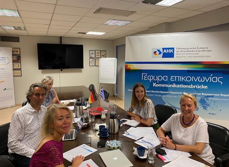 Erster hybrider Round Table der deutsch-griechischen Berufsbildungszusammenarbeit